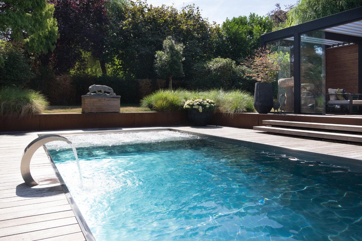 Van Eeckhoudt-inox zwembad massage