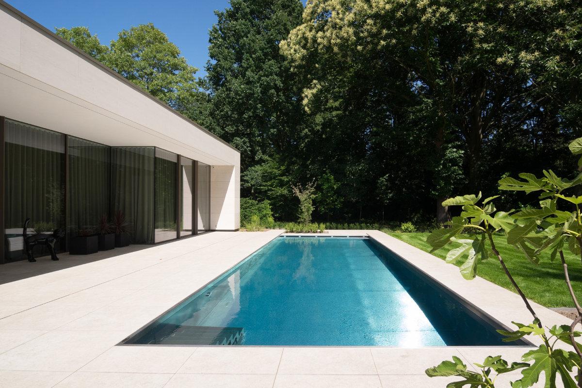 Van Eeckhoudt-inox zwembad trap