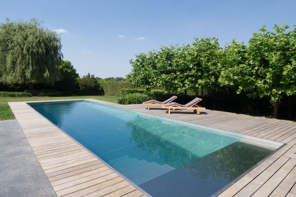 Van Eeckhoudt-zwembad inox